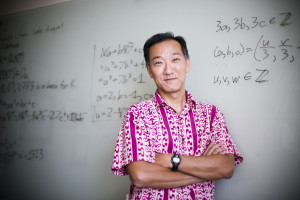 Ken Ono of Emory University, Editor of Research in the Mathematical Sciences and Research in Number Theory